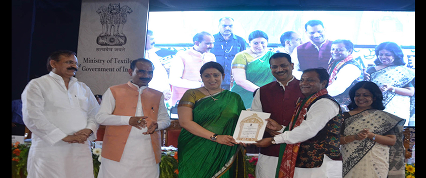 Awards to Master Weavers