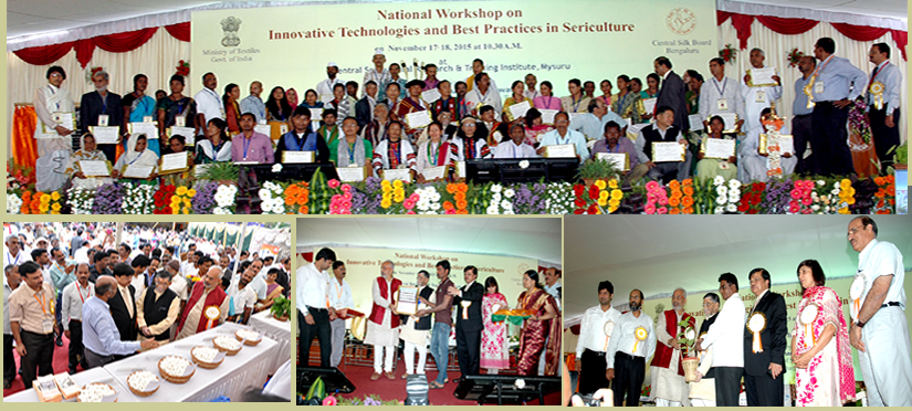 National Workshop on Innovative Technologies and Best Practices in Sericulture  at Mysuru